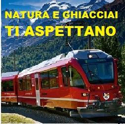Glacier express e Bernina Express