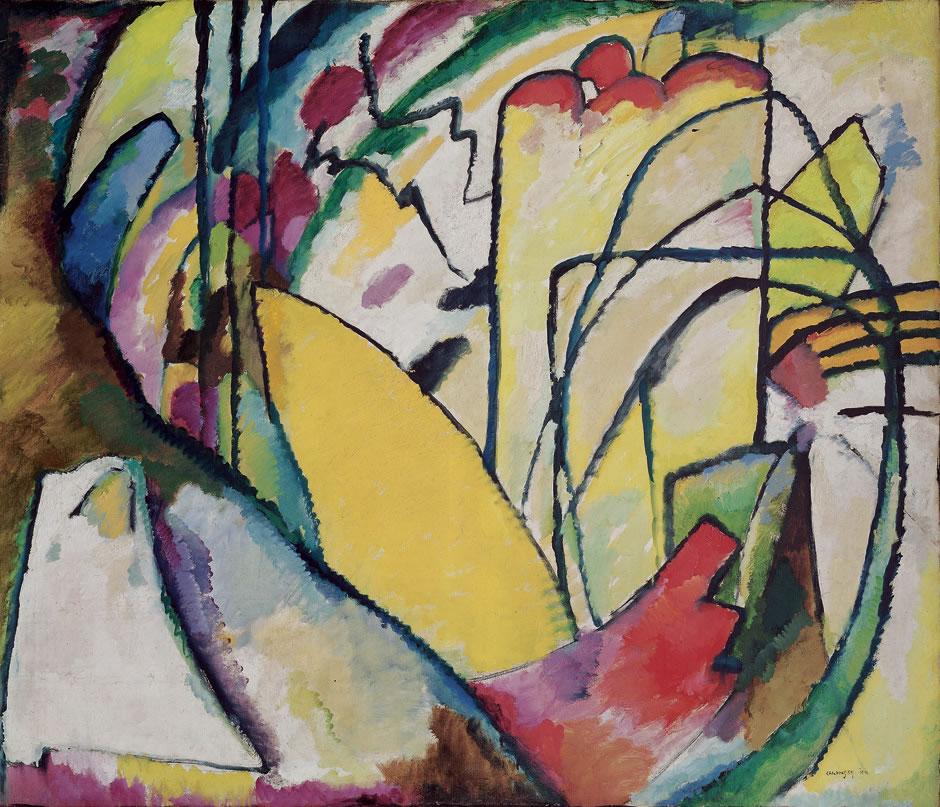 A basilea dal 6 settembre mostra di Kandinsky