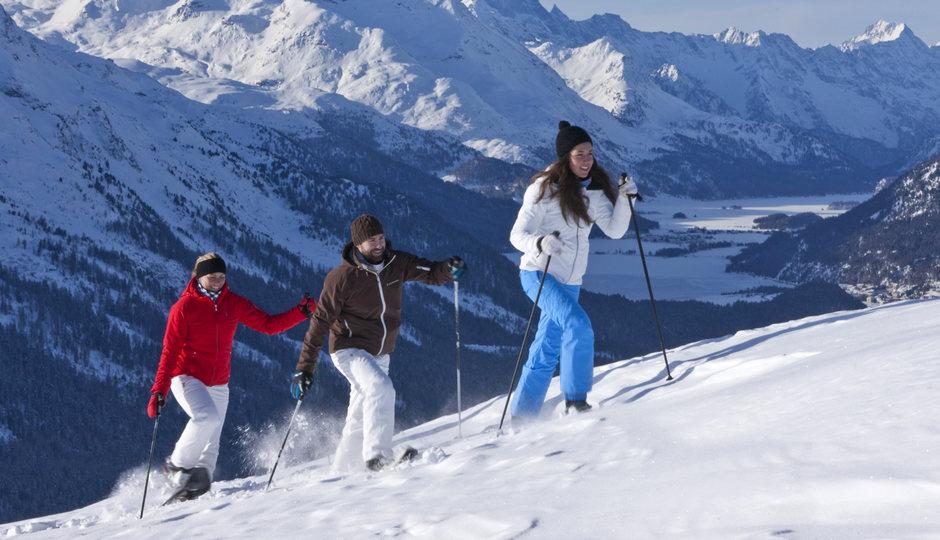 pontresina-neve-persone