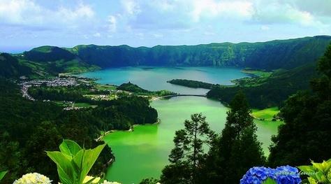 sao miguel-azzorre-lago