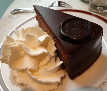 La torta sacher da gustare a Vienna