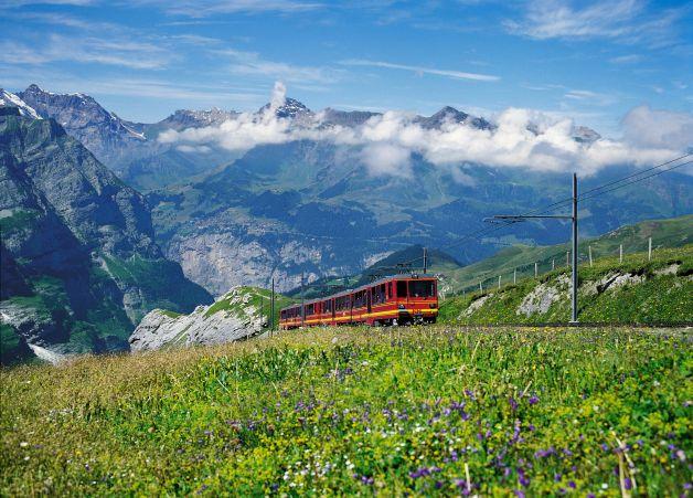 jungfrau treno estate