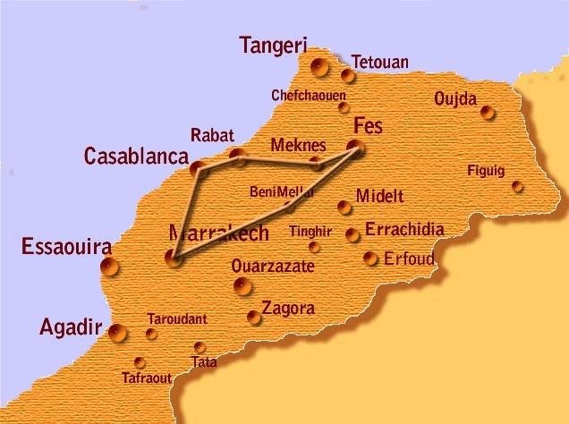 marocco tour città imperiali
