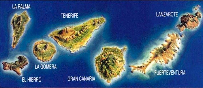 Le 7 Isole Canarie Viste Dal Mare