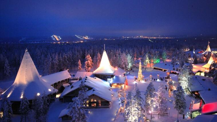 Lapponia E La Casa Di Babbo Natale.Viaggio Di Gruppo Immersi Nella Natura Finlandese Con Babbo Natale