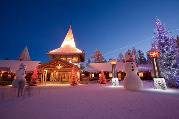 Magia di Babbo Natale in Lapponia