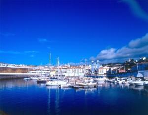 Azzorre Angra do Heroísmo e il porto