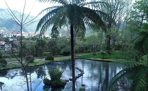 Terra nostra a Sao Miguel