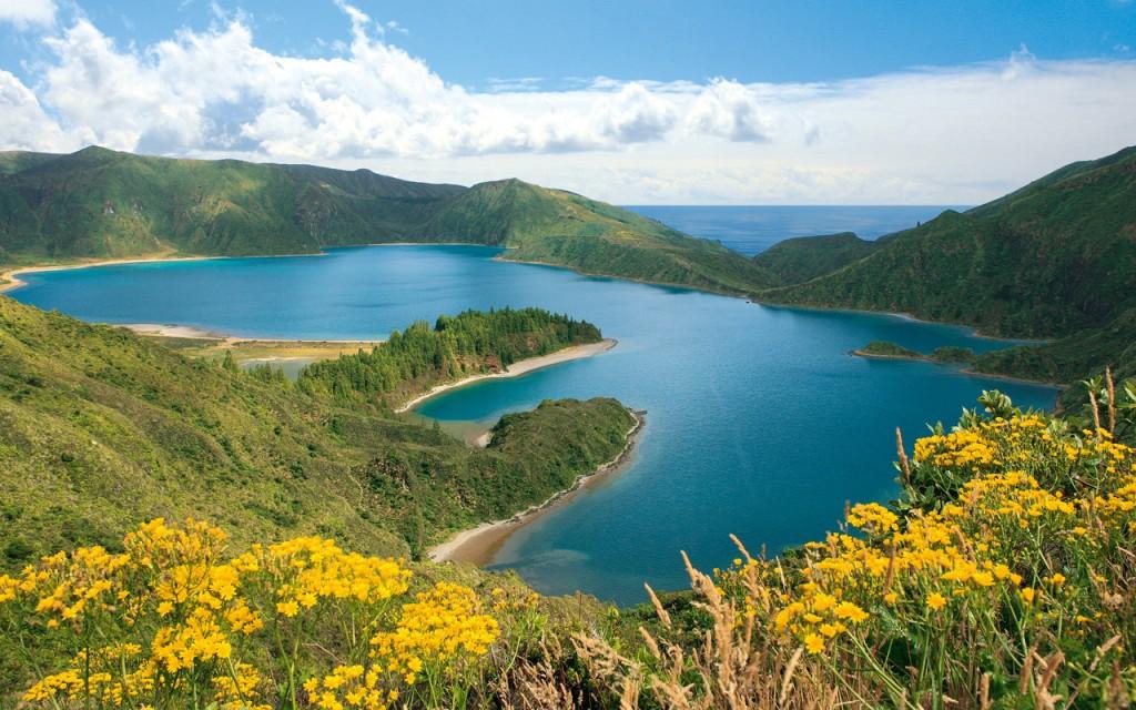 lagoa do fogo alle azzorre laghi e vulcani