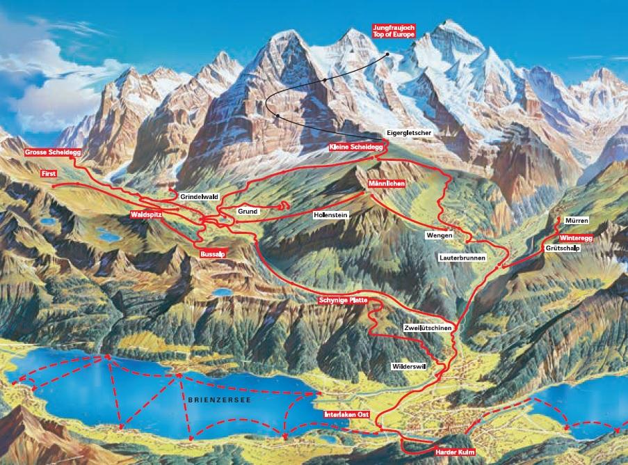 comprensorio Jungfrau