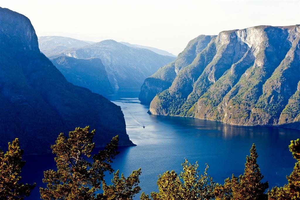 Un fiordo Sognefjord