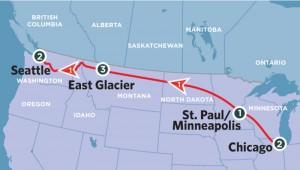 Speciale tour di gruppo con i treni dell'Amtrak