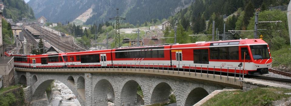 Trenini panoramici in Svizzera