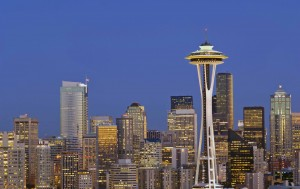 Tour di gruppo con i treni dell'Amtrack Seattle Skyline Twilight