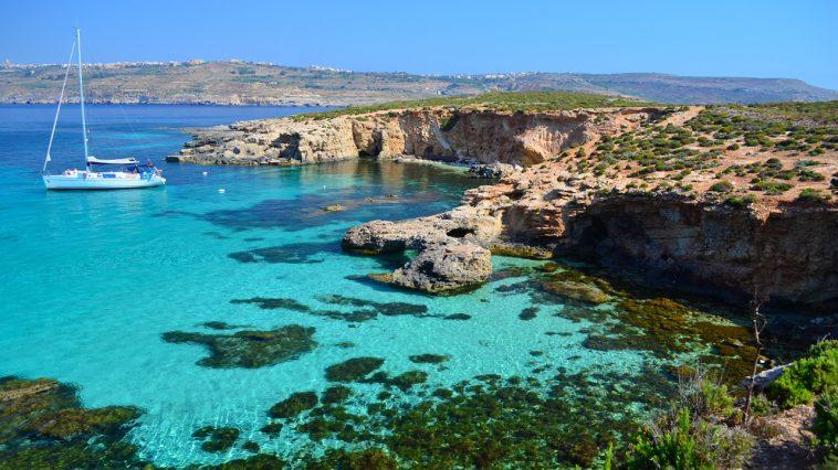 Malta e il mare blu