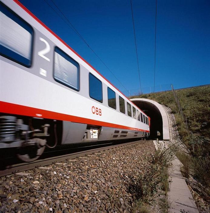 in treno tra austria e svizzera