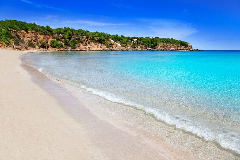 Ibiza una spiaggia bellissima