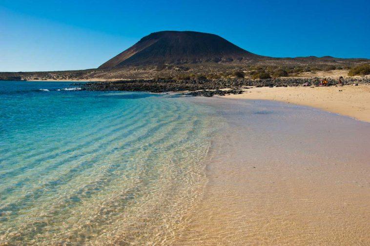 Il mare cristallino di Lanzarote
