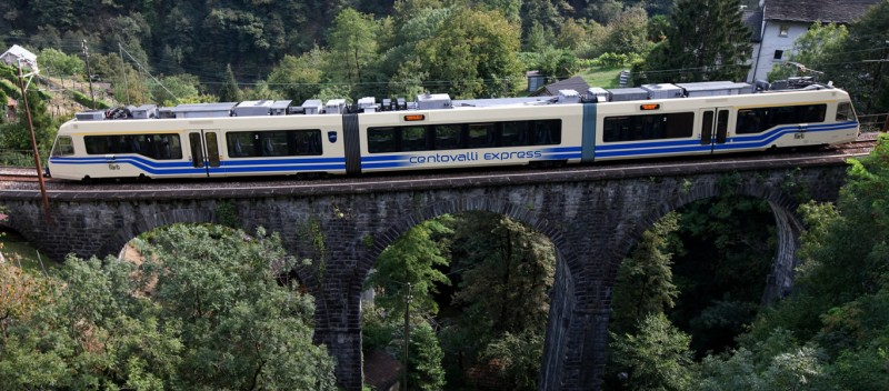 la ferrovia delle Centovalli e la Valdossola