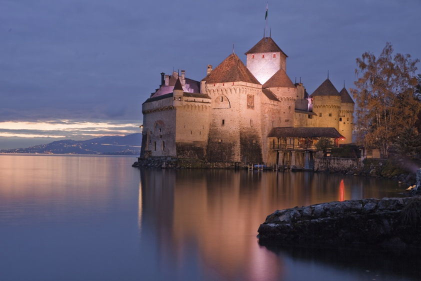 Losanna e il Castello di Chillon