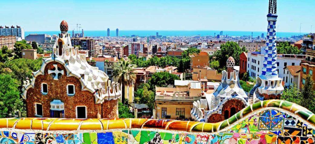 Triangolo d'oro di città spagnole