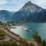Treno panoramico del Gottardo