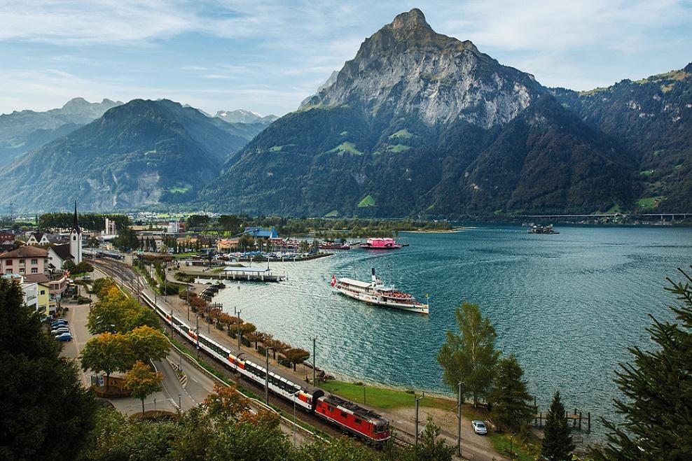 ferrovie panoramiche di montagna in svizzera