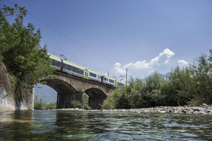 il trenino verde delle alpi