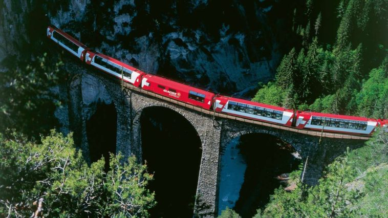 Glacier express in svizzera