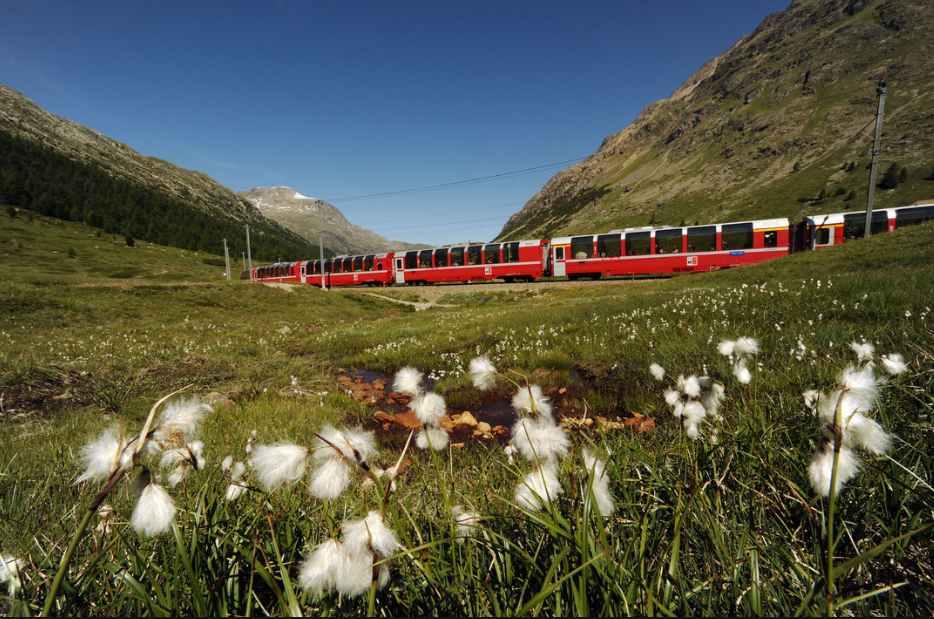 bernina express in Svizzera
