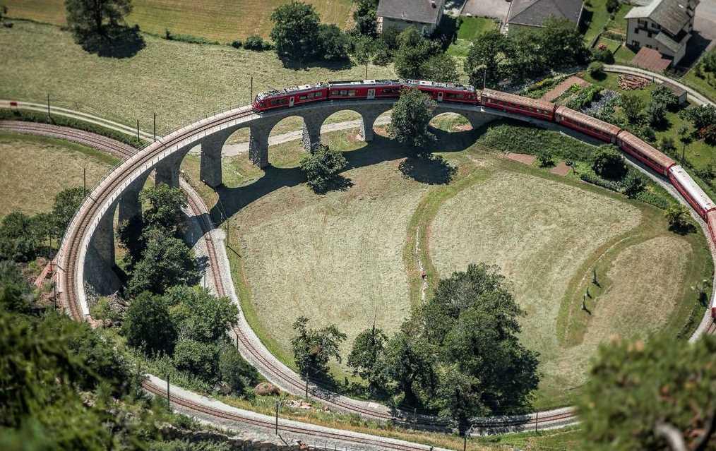 In Svizzera con i treni panoramici