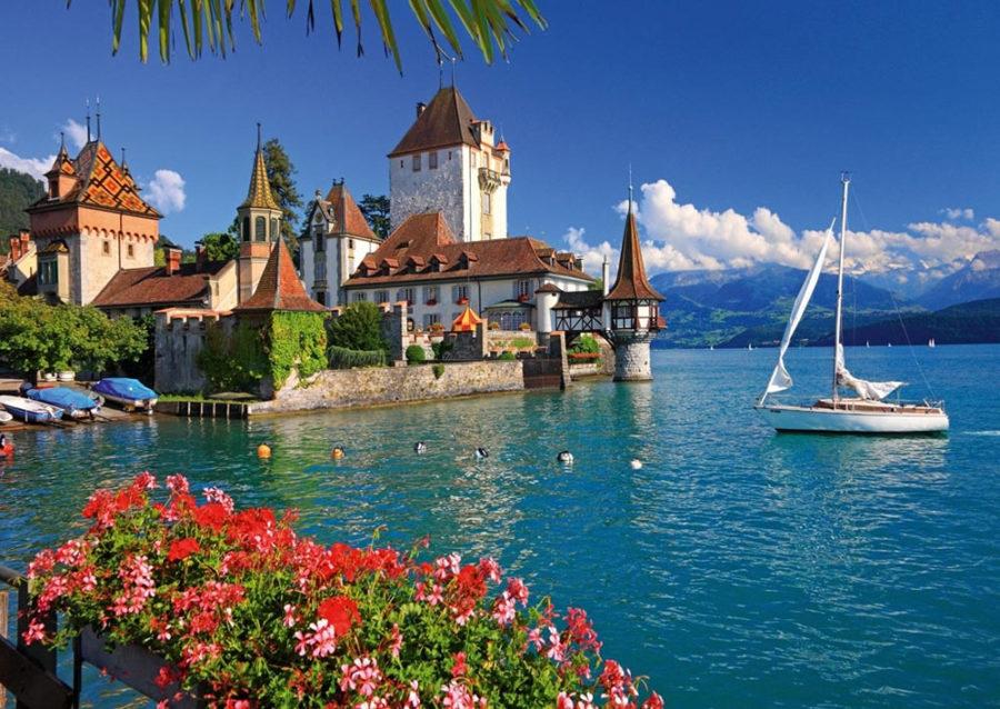 la svizzera e i laghi