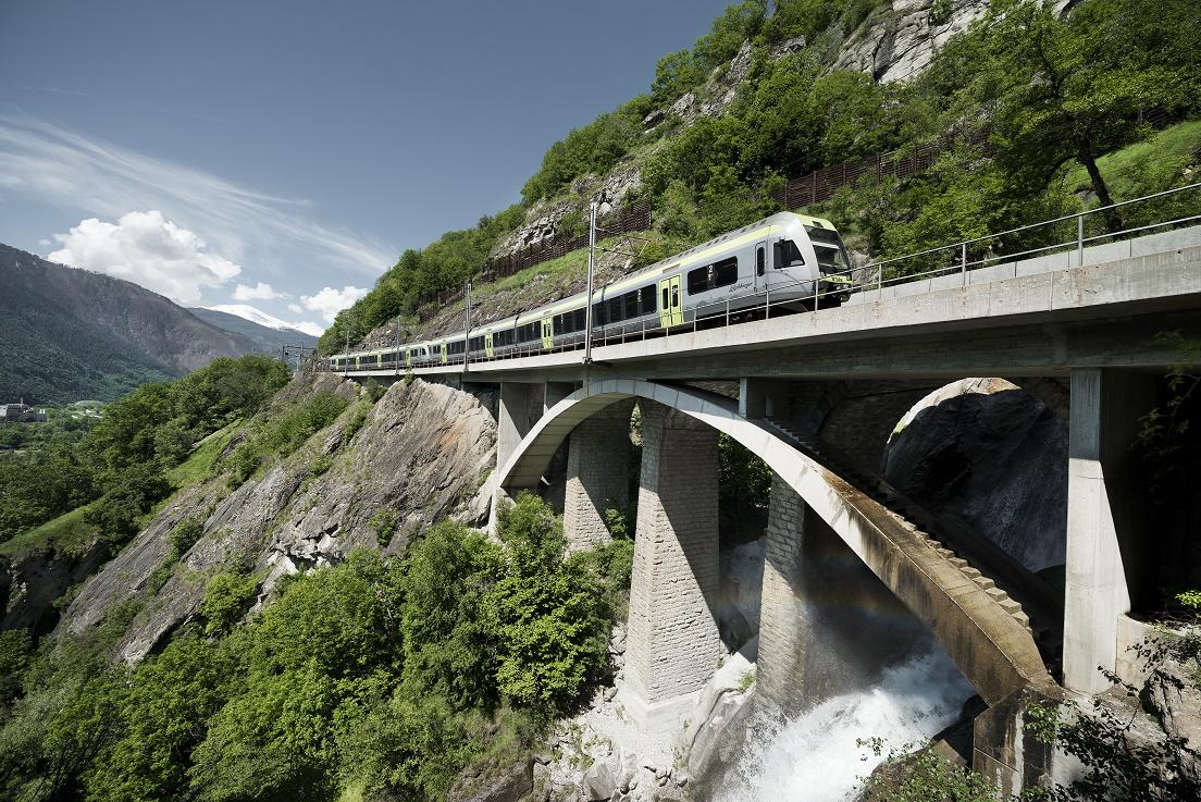Trenino verde e lago di Thun