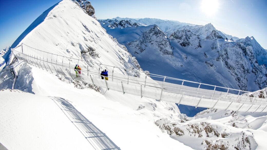 ponte sospeso in Svizzera