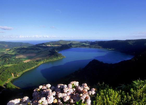 Azzorre lago sao miguel