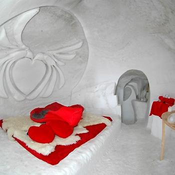 san valentino indimenticabile in un igloo