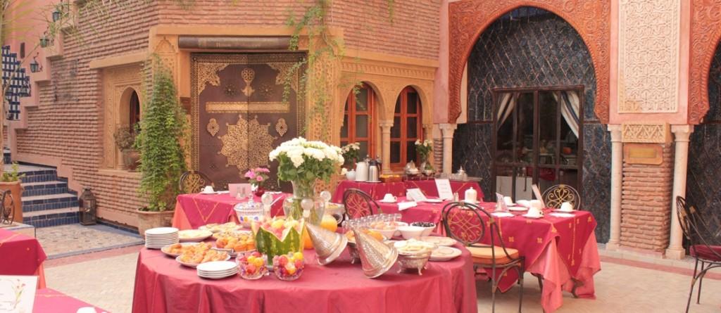 Marocco- patio-palais-sebban