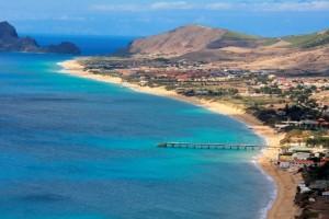Un'isola una sola spiaggia Porto Santo