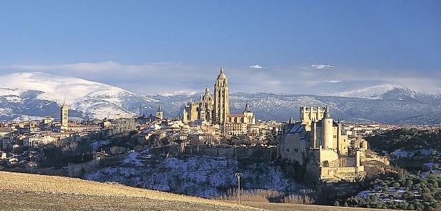 Segovia-vista generale