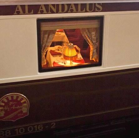 treno di lusso al andalus