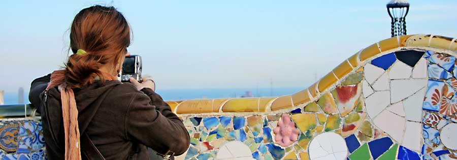 a barcellona respirando Gaudì