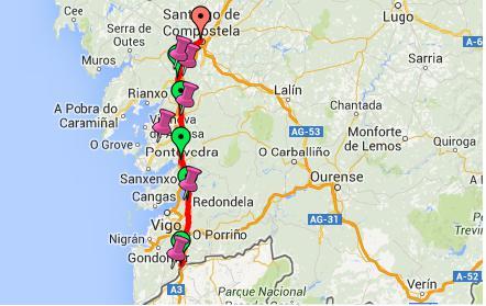 cammino santiago cammino portoghese