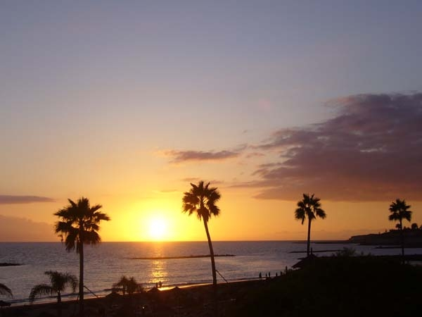 Un magico tramonto a Fuerveventura