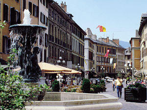 in alta savoia a chambery