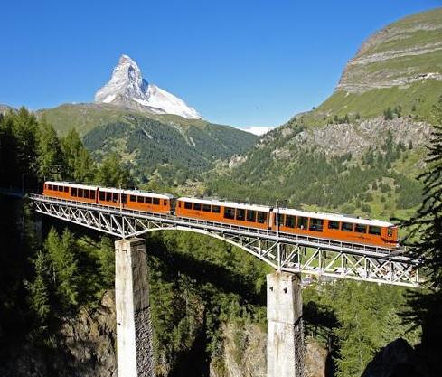 La ferrovia del gornergrat