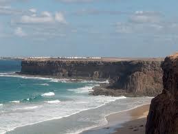 A Fuerteventura uno scorcio del Cotillo