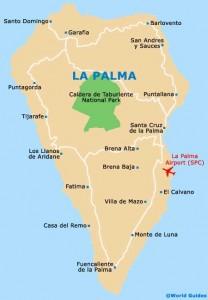 L'isola di La Palma