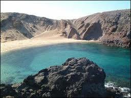 Spiaggia bianca a Lanzarote