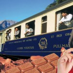 svizzera e il treno del coccolato